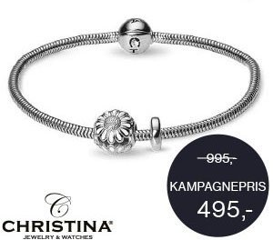Sølv armbånd fra Christina Collect - kampagne armbånd